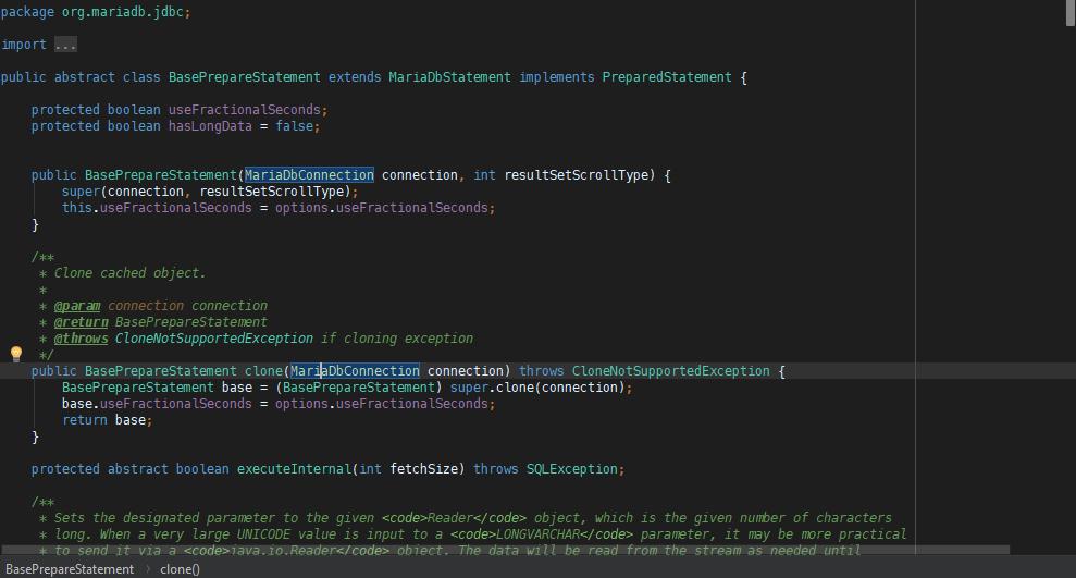 Dark Blue Theme Color Scheme - Plugins | JetBrains