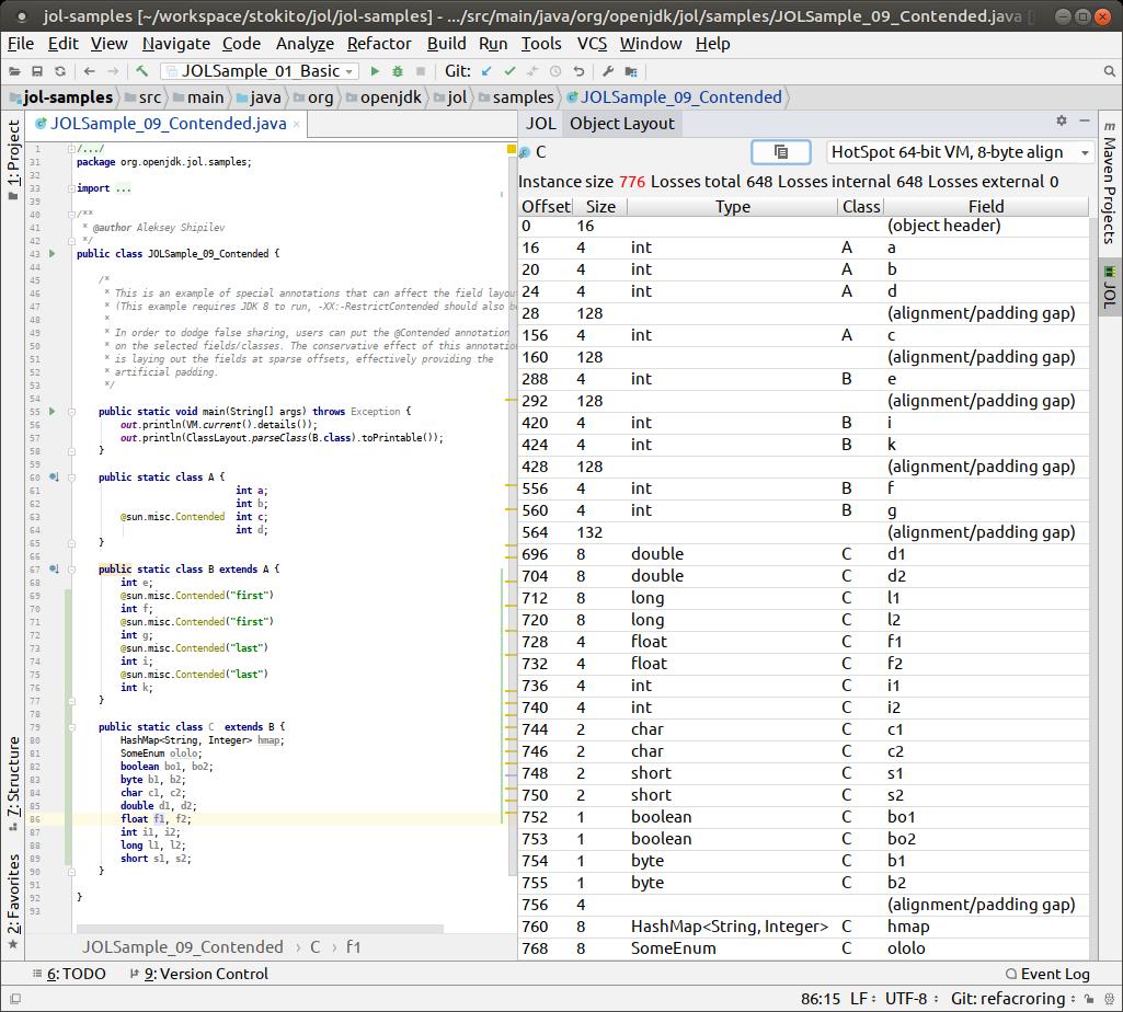 JOL Java Object Layout - Plugins | JetBrains