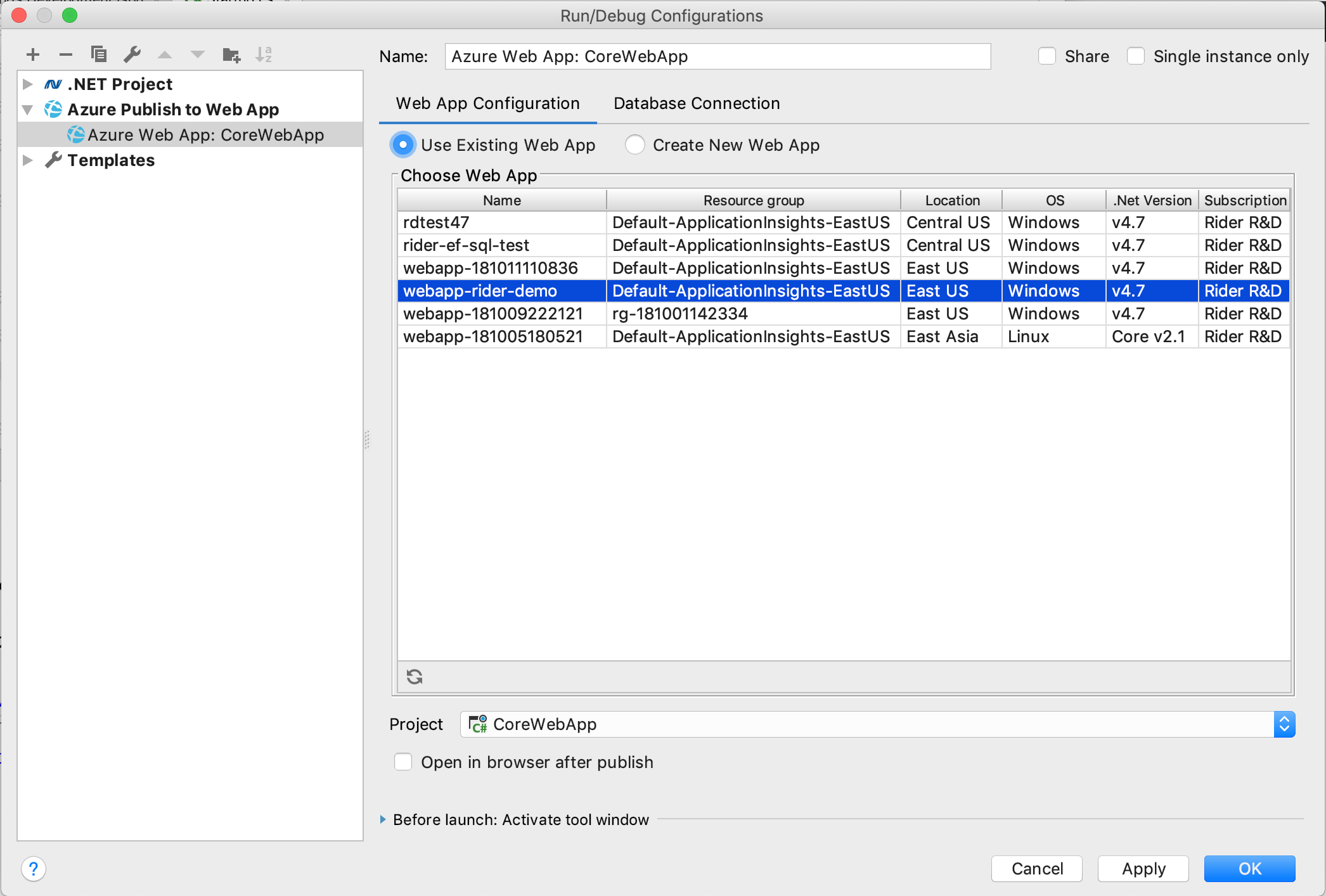 Azure Toolkit For Rider Plugins Jetbrains