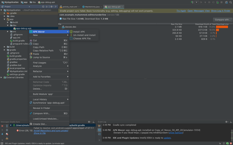 APK Mover - Plugins | JetBrains