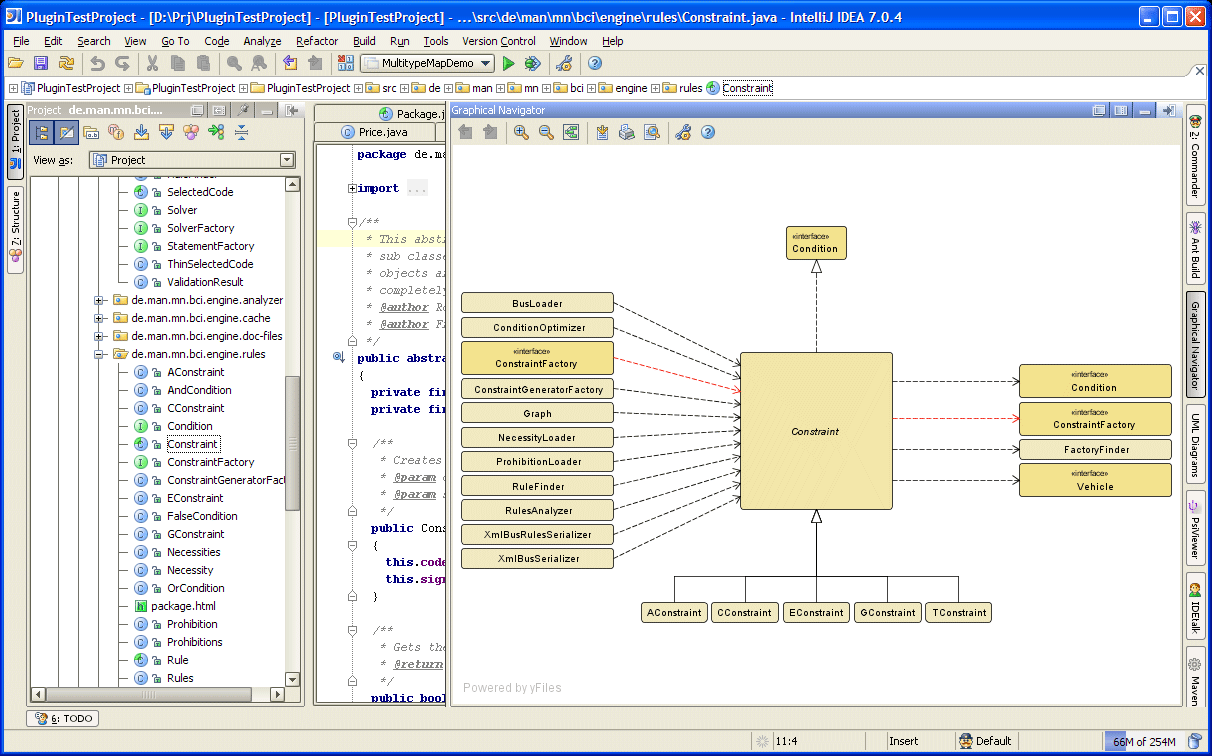 Code navigator jetbrains plugin repository uml diagram screenshot 1979 ccuart