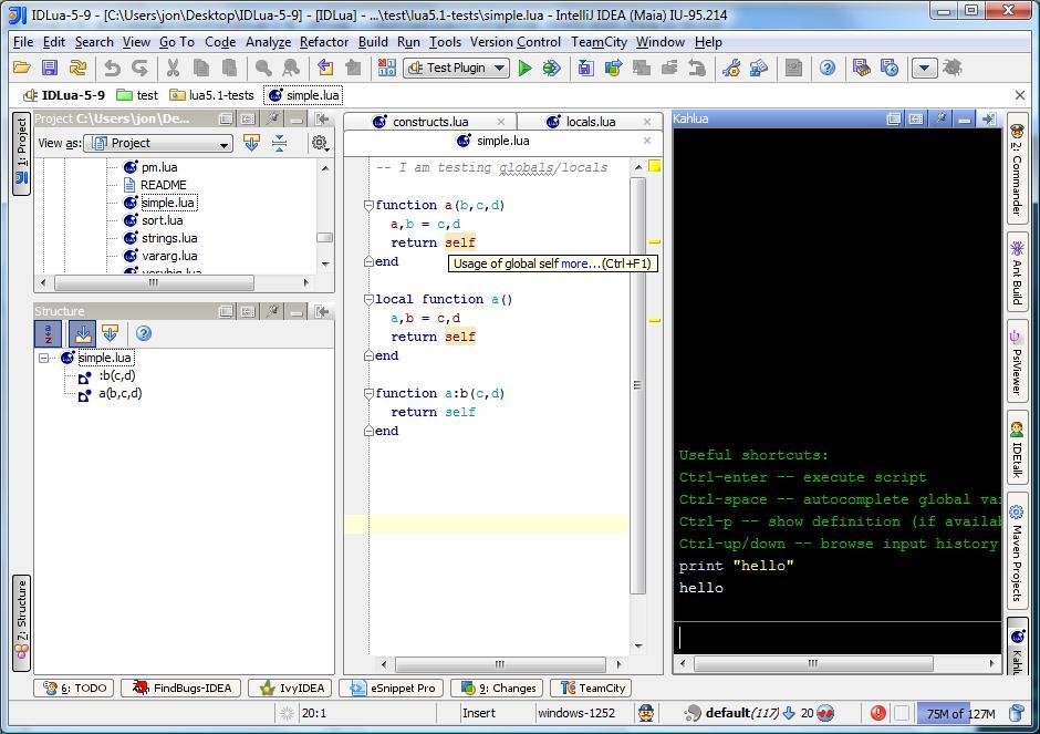 Lua - Plugins | JetBrains