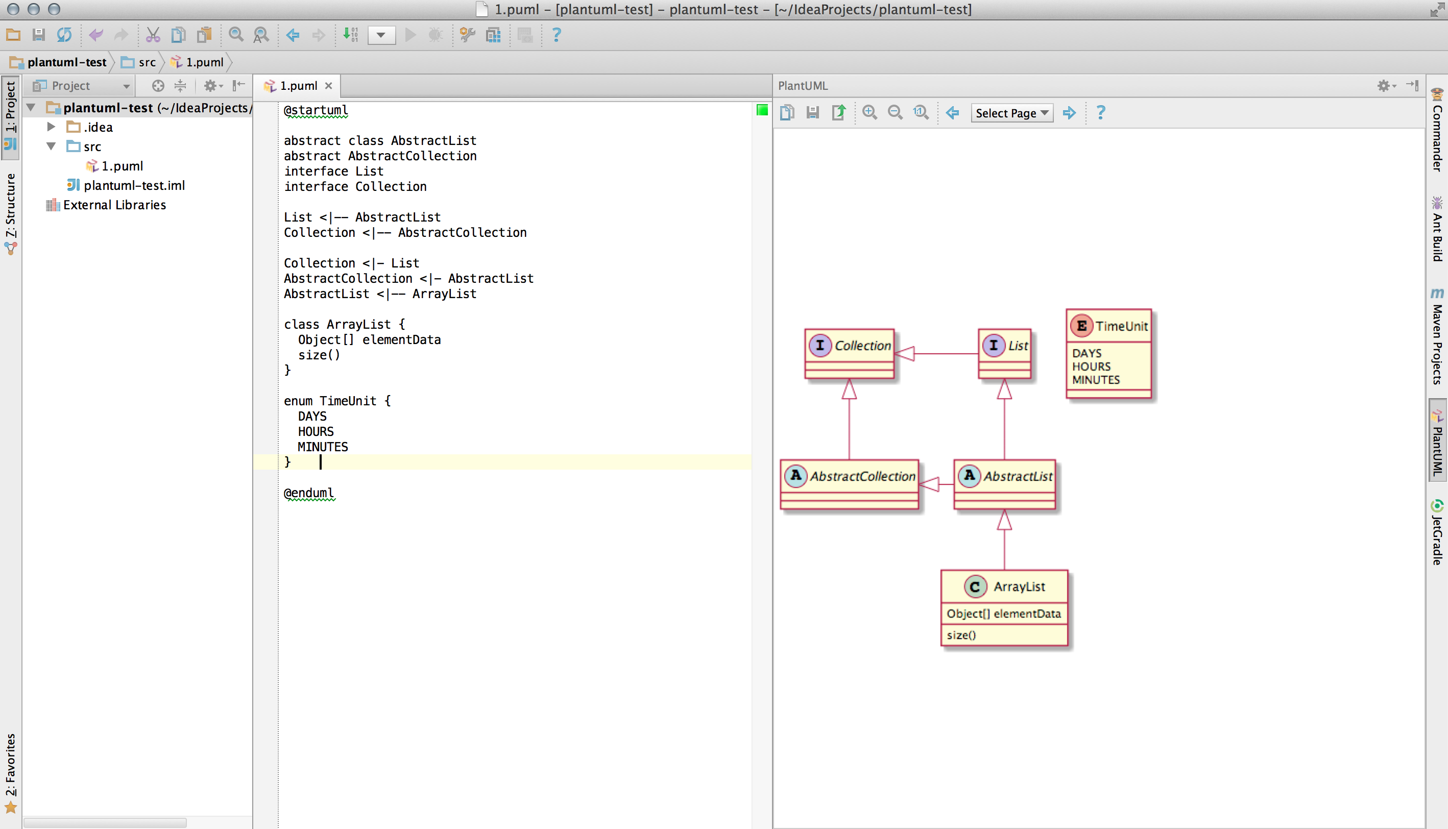 Plantuml Integration Plugins Jetbrains Make A Block Diagram In Word Screenshot 14265