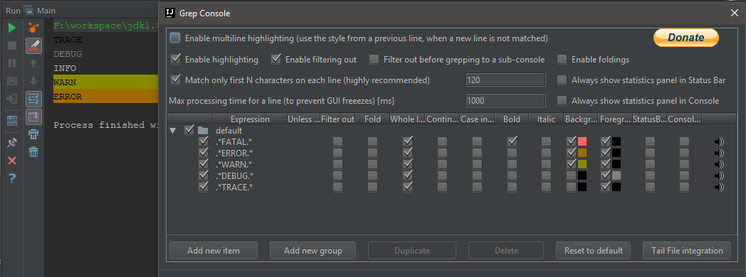 Grep Console - Plugins | JetBrains