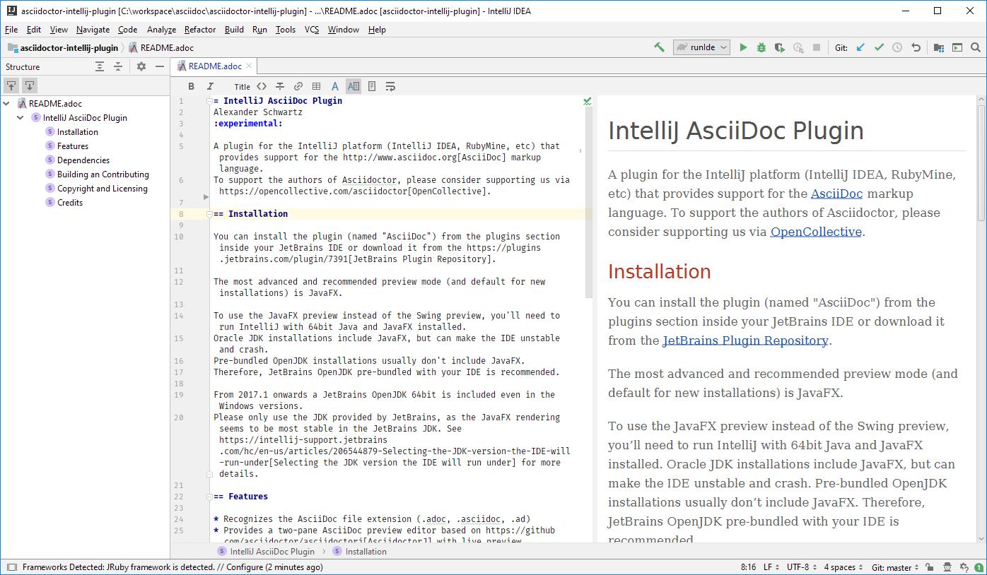 AsciiDoc - Plugins | JetBrains