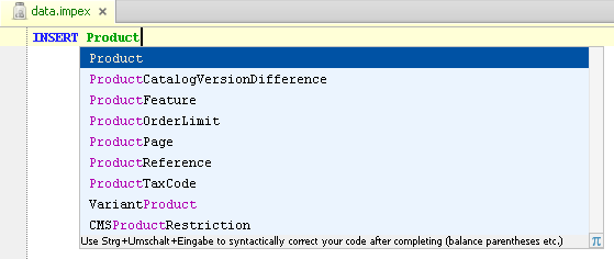 Hybris integration jetbrains plugin repository screenshot 14725 sciox Gallery