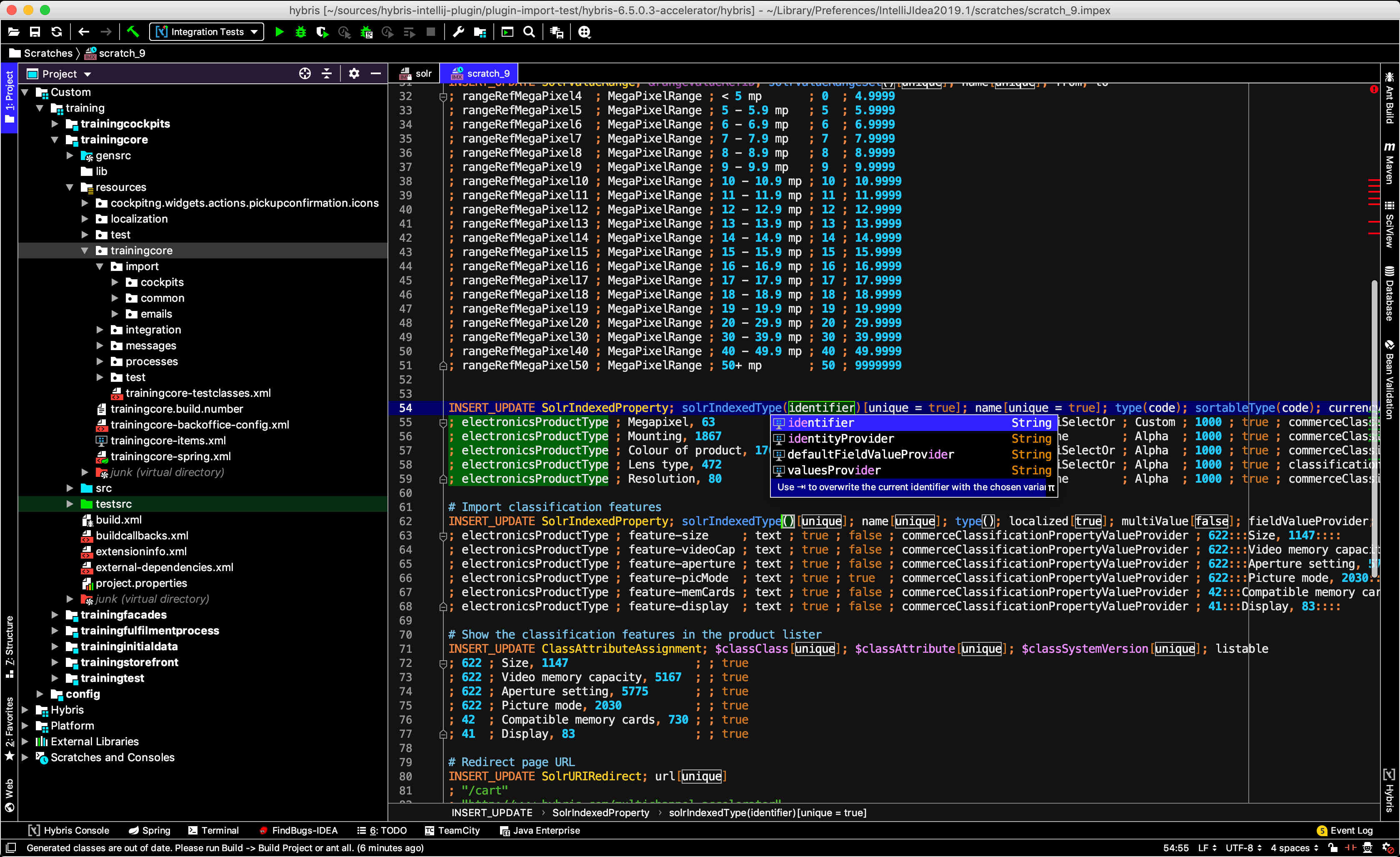 hybris integration - Plugins | JetBrains