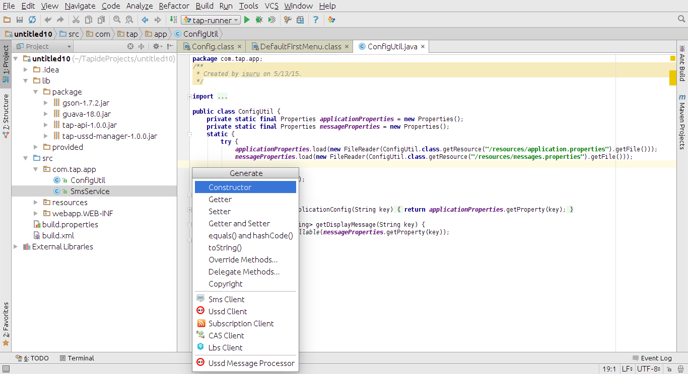 how to use intellij idea for android development