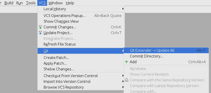 Git Extender - Plugins   JetBrains