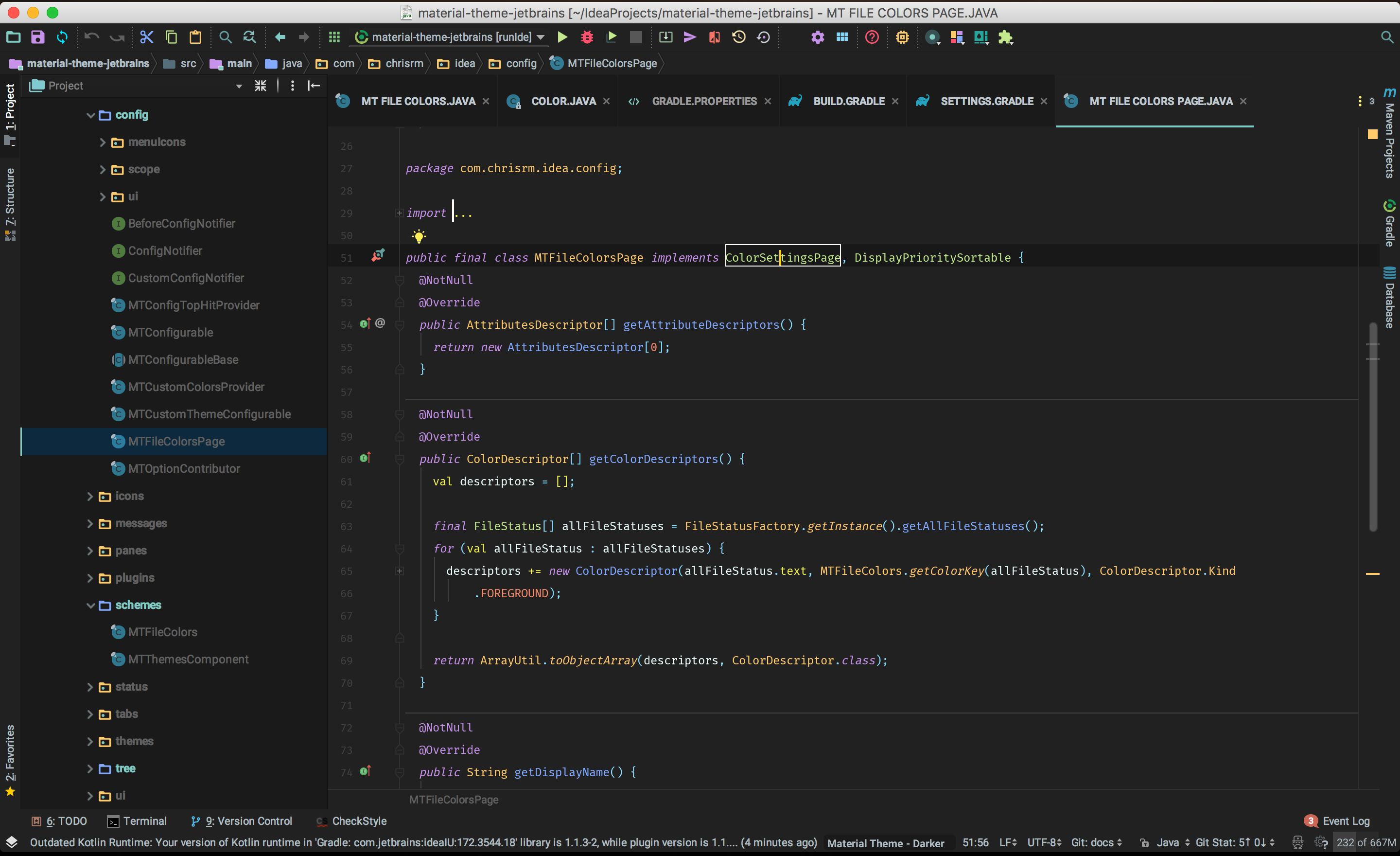 Material theme ui jetbrains plugin repository screenshot 17528 malvernweather Choice Image