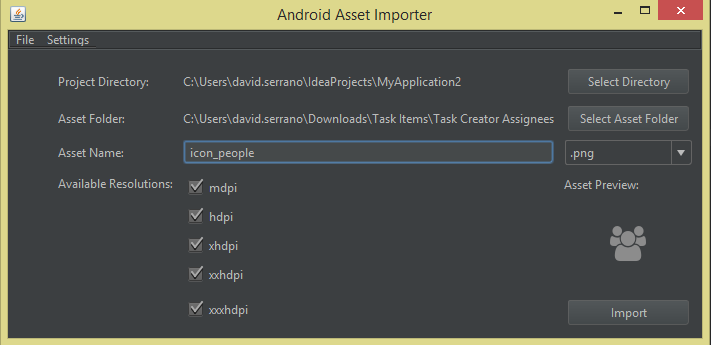 Android Asset Importer - Plugins | JetBrains