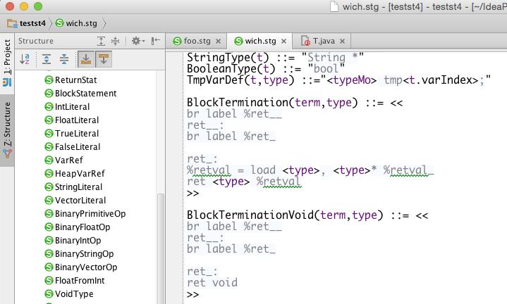 StringTemplate v4 plugin - Plugins | JetBrains