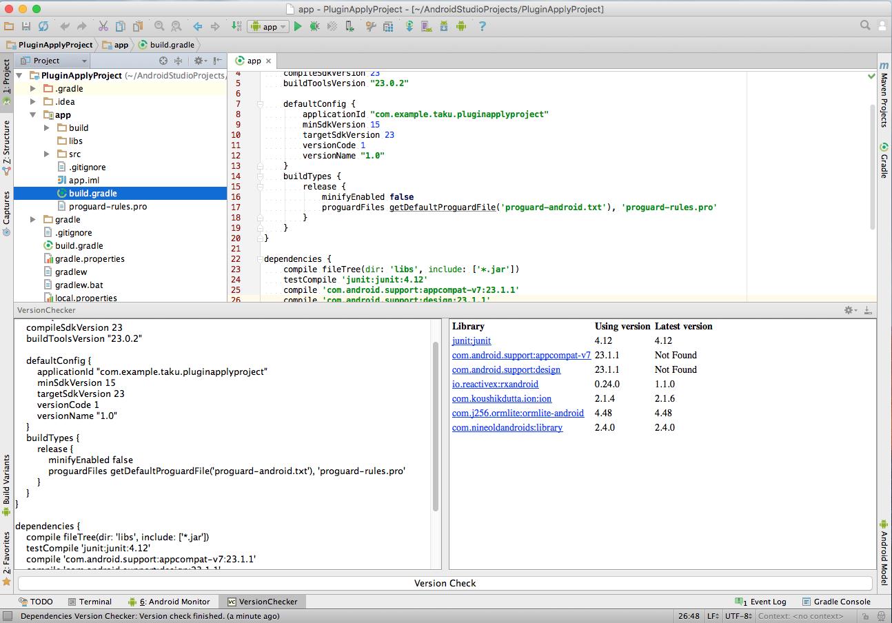 Dependencies Version Checker - Plugins | JetBrains