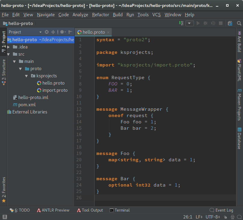Protobuf Support - Plugins | JetBrains