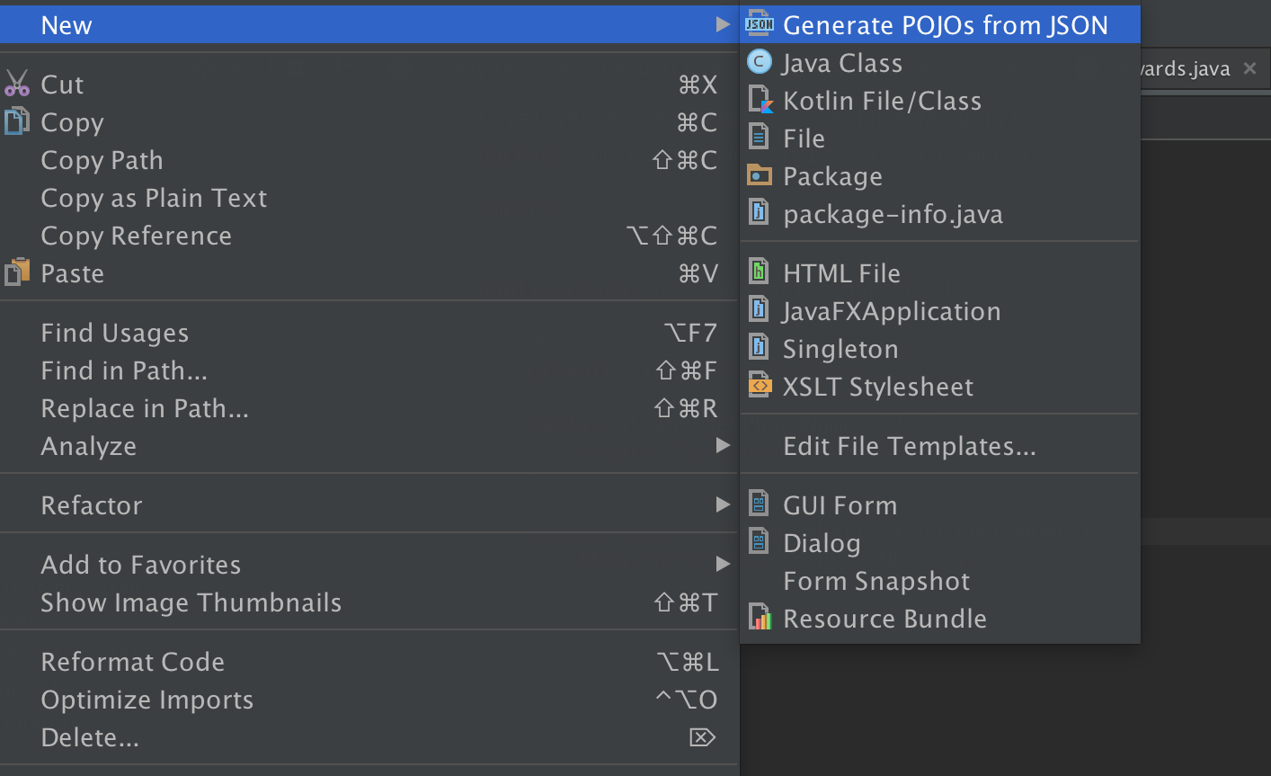 Json2Pojo - Plugins | JetBrains