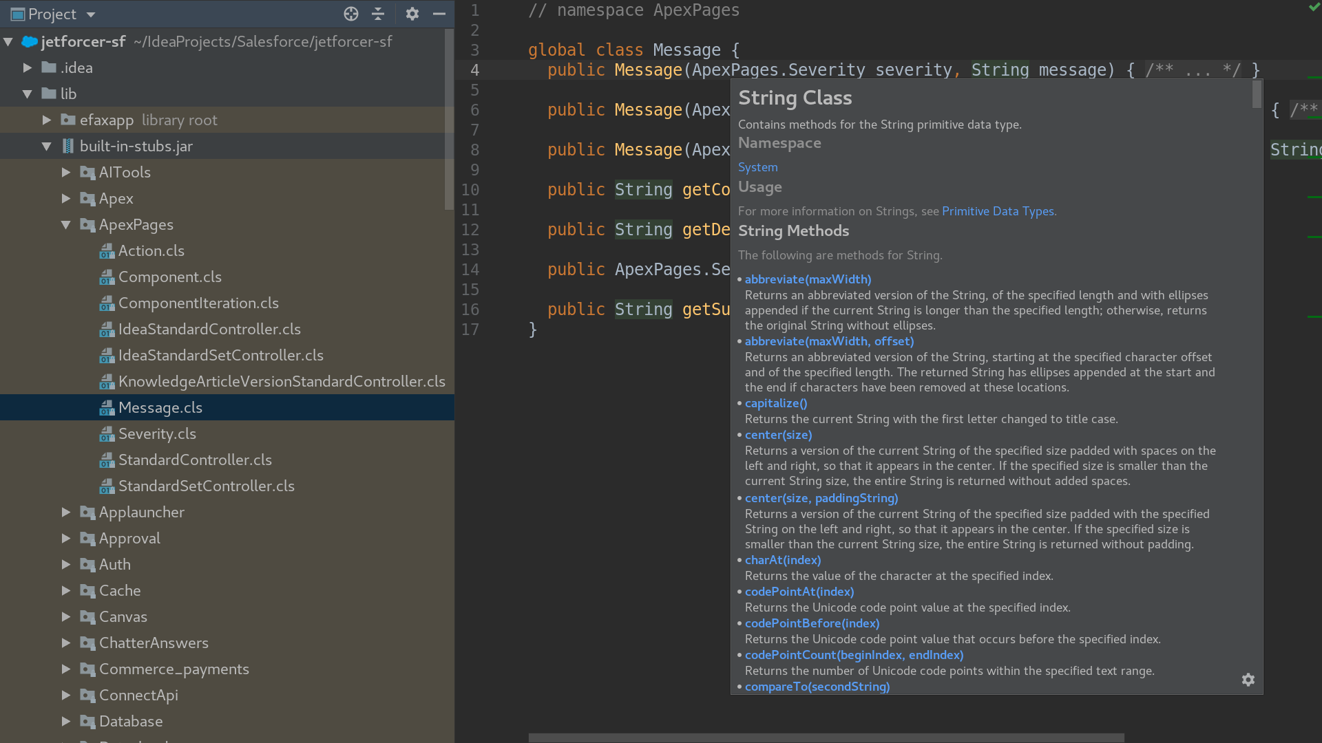 JetForcer | The Smartest Force com IDE - Plugins | JetBrains
