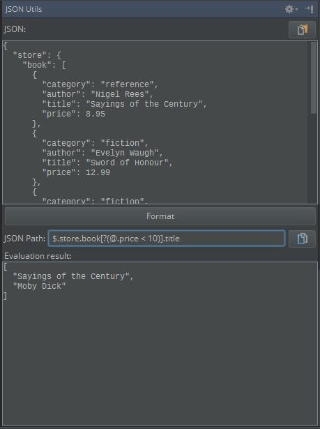 JSON Utils - Plugins | JetBrains