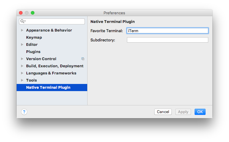 Native Terminal - Plugins | JetBrains